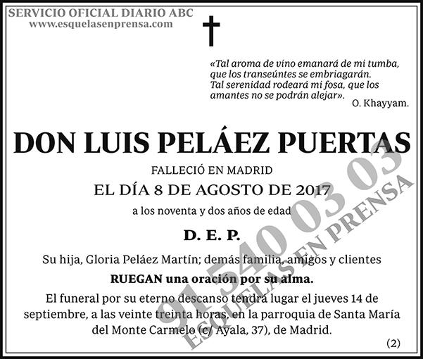 Luis Peláez Puertas